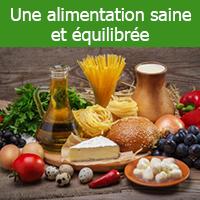 Qu'est-ce qu'une alimentation saine et équilibrée